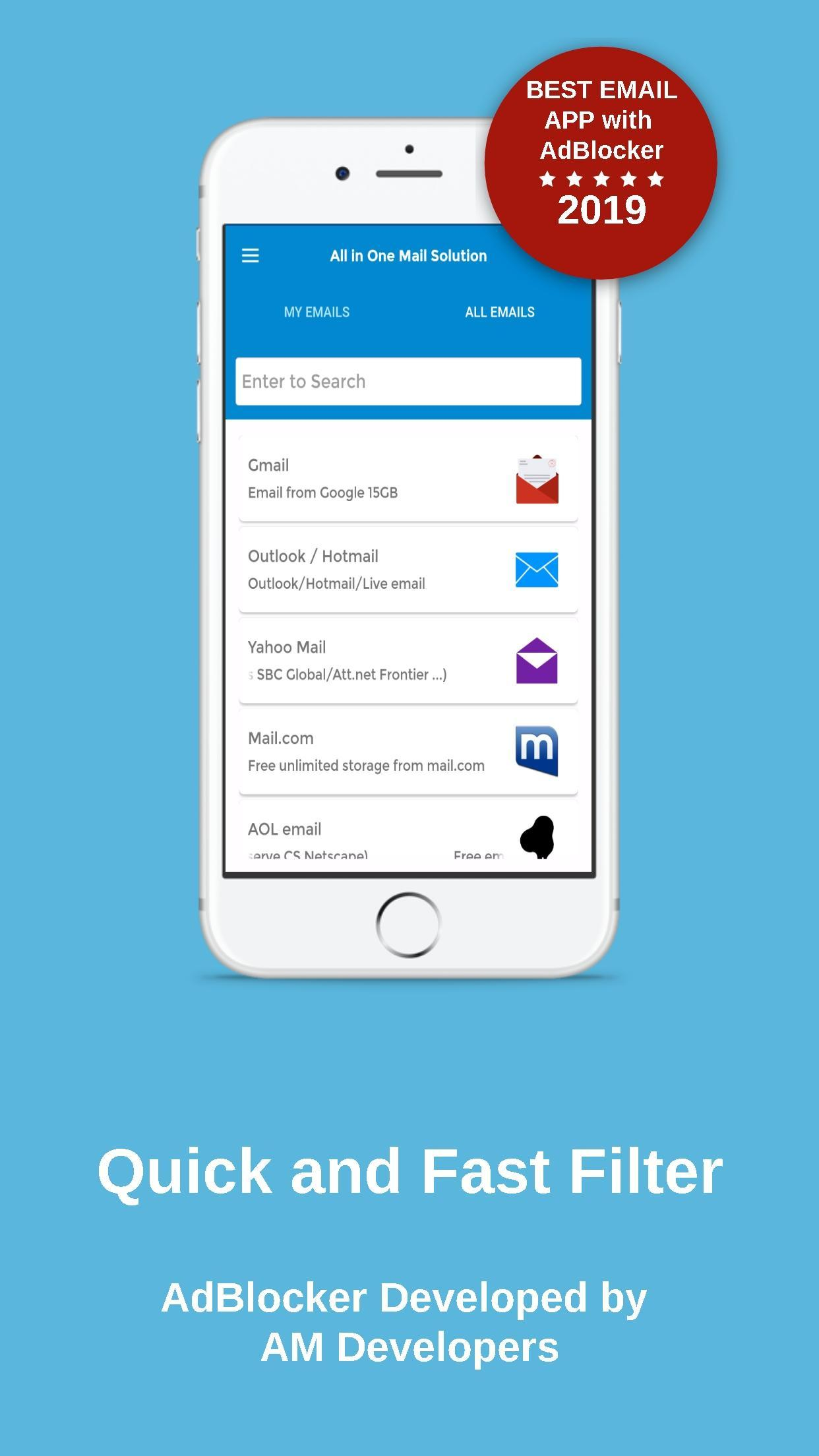 All Email Providers in One for Android - APK Download