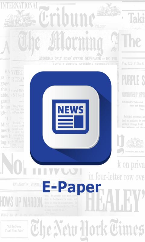 All India Newspaper / E-Paper for Android - APK Download