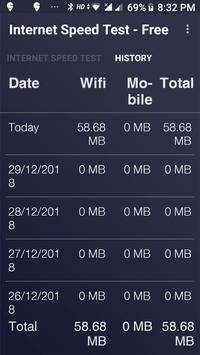 Internet Speed Test - Free screenshot 2