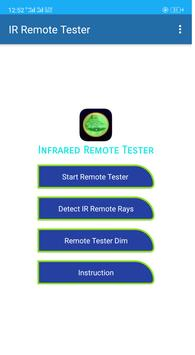 Remote Tester Infrared Rays Detectors poster