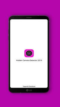 Hidden Camera Detector 2019 Spy Camera Detection poster