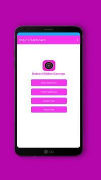Hidden Camera Detector 2019 Spy Camera Detection screenshot 1