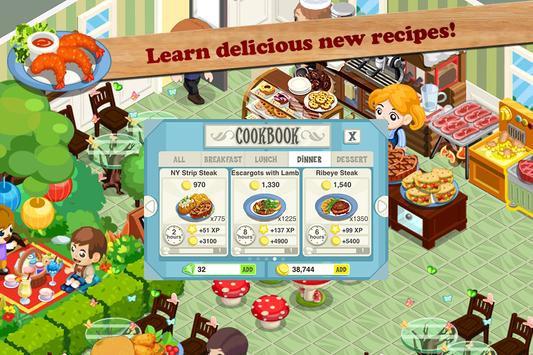 Restaurant Story: Fast Food screenshot 4