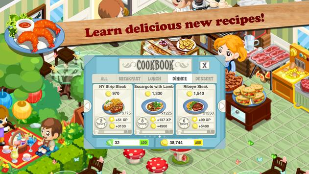 Restaurant Story: Fast Food screenshot 9