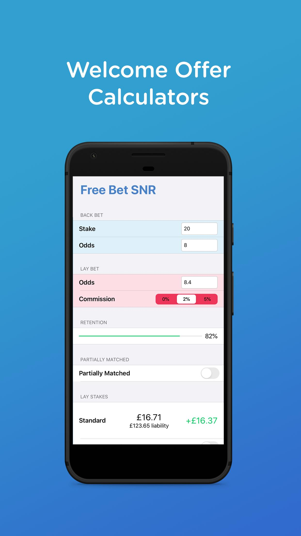 Matched betting calculator download betting lines ncaa hockey standings