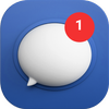 Blue SMS 아이콘