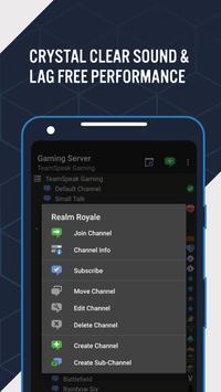 TeamSpeak 3 - Voice Chat Software Ekran Görüntüsü 2