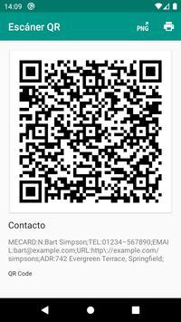 Lector de códigos QR y barras (español) captura de pantalla 6