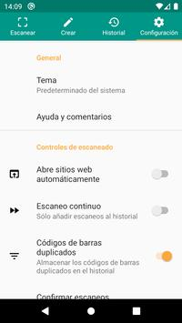 Lector de códigos QR y barras (español) captura de pantalla 7