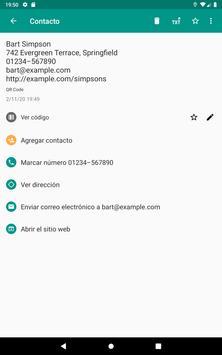Lector de códigos QR y barras (español) captura de pantalla 9