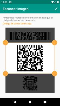 Lector de códigos QR y barras (español) captura de pantalla 3