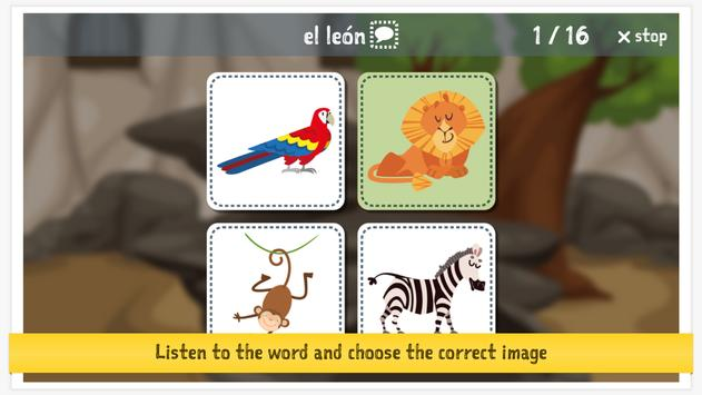 Learn Spanish With Amy for Kids screenshot 11