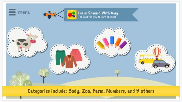 Learn Spanish With Amy for Kids screenshot 16