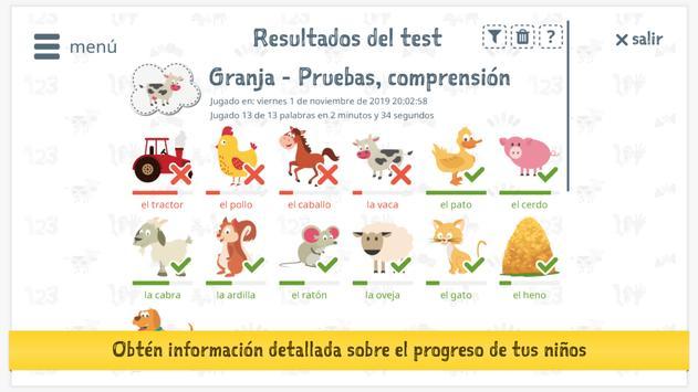 Aprende español con Tonia para niños 截图 10
