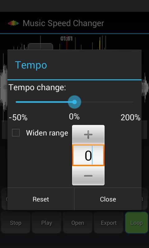 music speed changer apk