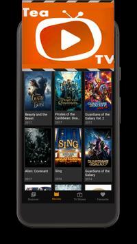 TeaTV - HD Movies guide screenshot 1