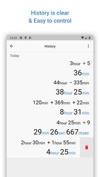 Time Calculator screenshot 3