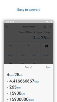 Time Calculator screenshot 2