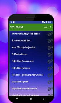 جميع أغاني Tedj Eddine بدون أنترنت screenshot 1