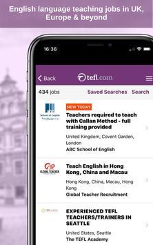 17 Schermata Job Search TEFL.com
