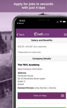 19 Schermata Job Search TEFL.com