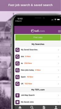 1 Schermata Job Search TEFL.com
