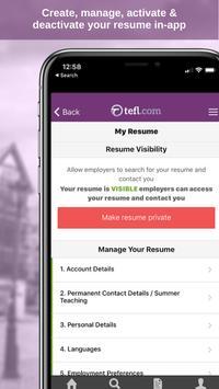 4 Schermata Job Search TEFL.com