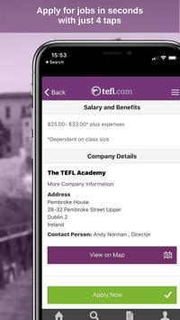 5 Schermata Job Search TEFL.com