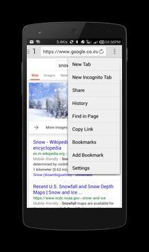 Snowfall screenshot 1