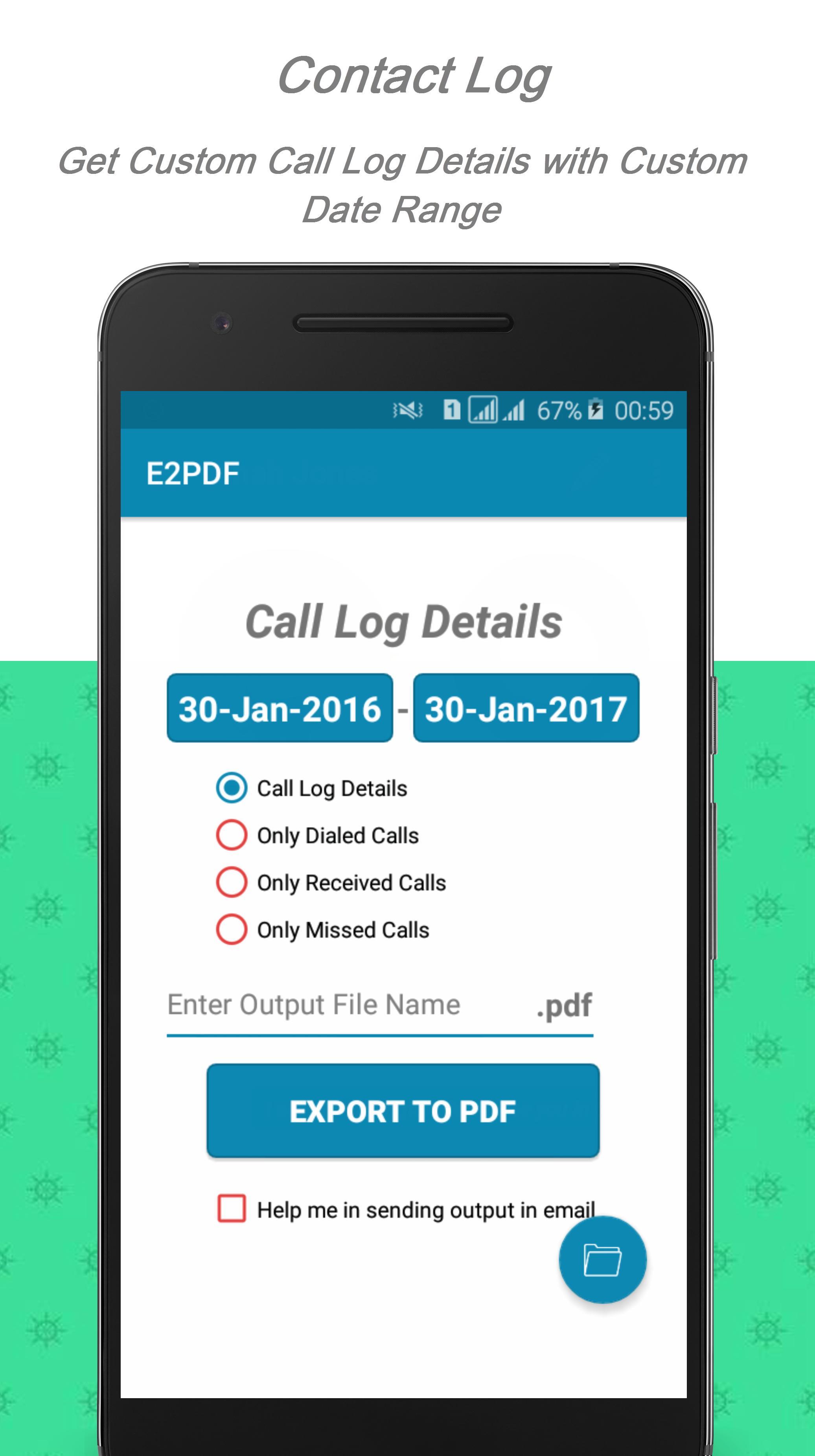 E2PDF – Backup Restore SMS,Call,Contact,TrueCaller