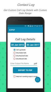 E2PDF - Backup Restore SMS,Call,Contact,TrueCaller स्क्रीनशॉट 6
