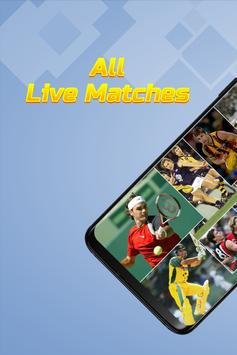 Poster live sports tv streaming