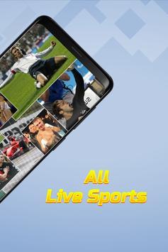 1 Schermata live sports tv streaming