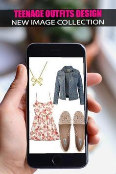 👗Teenage Outfits Design 2019👗 screenshot 4