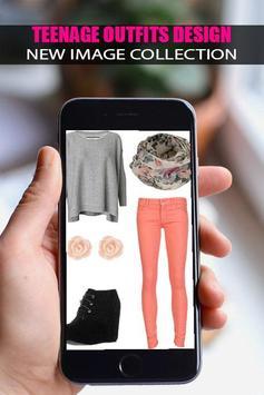 👗Teenage Outfits Design 2019👗 screenshot 1