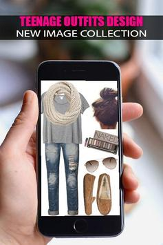 👗Teenage Outfits Design 2019👗 screenshot 2