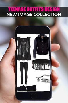 👗Teenage Outfits Design 2019👗 screenshot 3