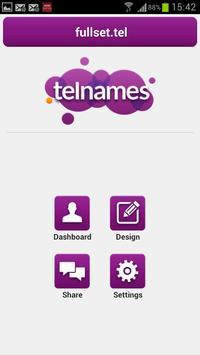 Telnames screenshot 1