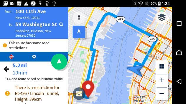 Navigation by Verizon Connect screenshot 7
