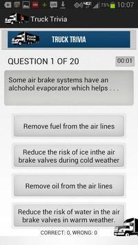 Truck Trivia for better routes screenshot 1