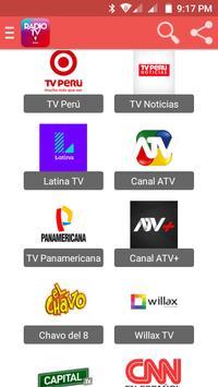 TV Perú - Radio FM, AM en Vivo poster