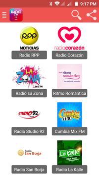 TV Perú - Radio FM, AM en Vivo screenshot 1