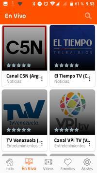 TV Mexico - TV en Vivo de Mexico y America Latina screenshot 1