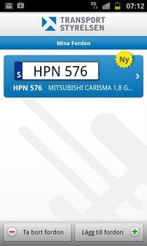 Mina fordon screenshot 1