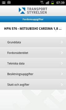 Mina fordon screenshot 3