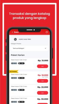 Digipos Aja! Pulsa, Data & Digital Telkomsel screenshot 4