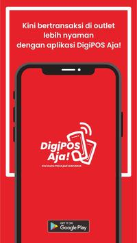 Digipos Aja! Pulsa, Data & Digital Telkomsel poster