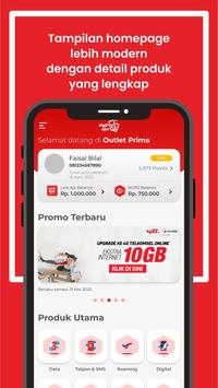 Digipos Aja! Pulsa, Data & Digital Telkomsel screenshot 1
