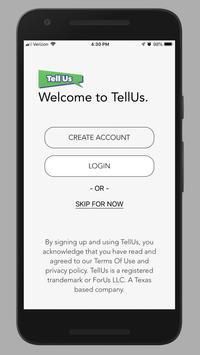 TellUs - The Feedback App screenshot 4