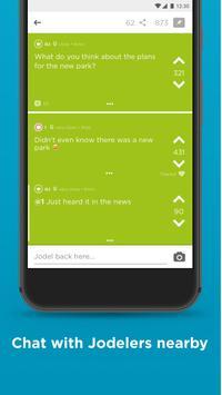 Jodel screenshot 1